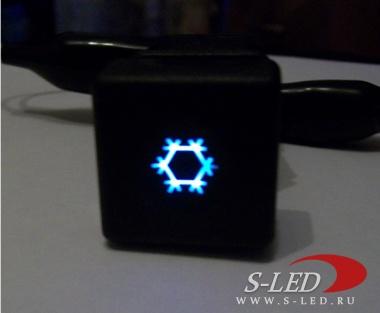 Подстветка кнопок панели приборов ВАЗ-2110-12